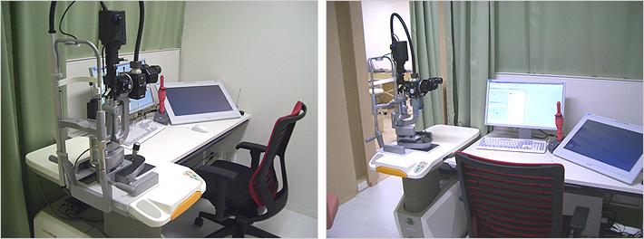 三鷹台眼科診察室